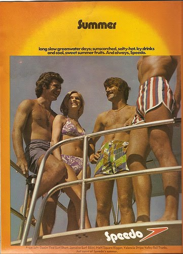 60s & 70s Men's Underwear Print Adverts