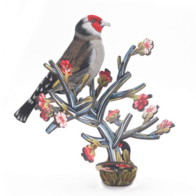 Floral Faux-Taxidermy Mounts