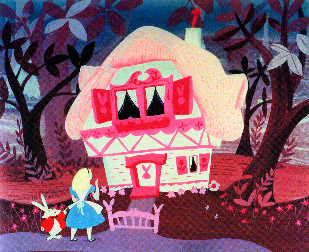 Mary Blair's Concept Art for Disney's Alice in Wonderland