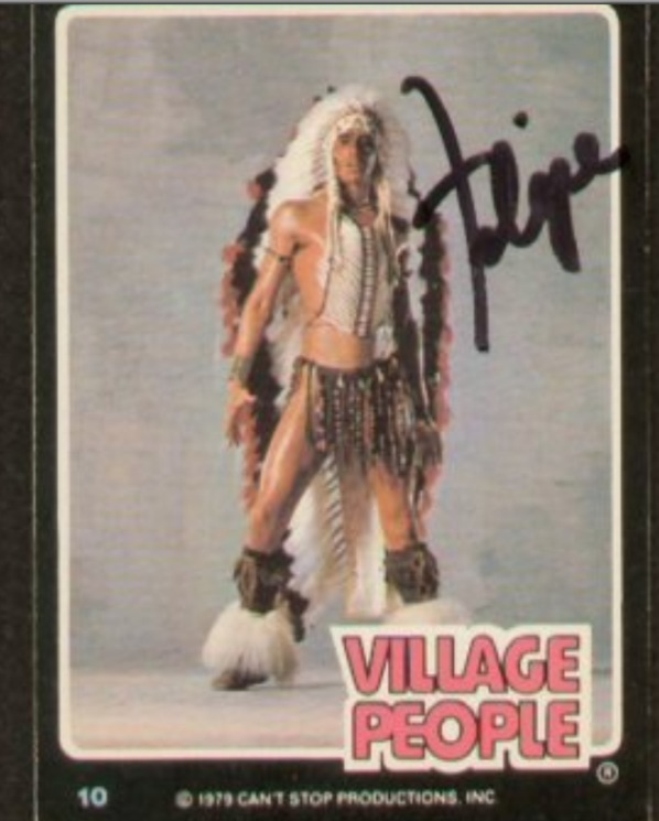 Village People Collector Cards