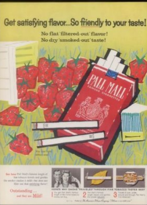 Mary Blair Vintage Fruity Cigarette Adverts