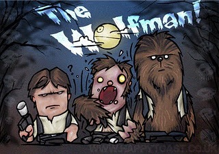 Halloween Star Wars Illustrations by Happy Toast