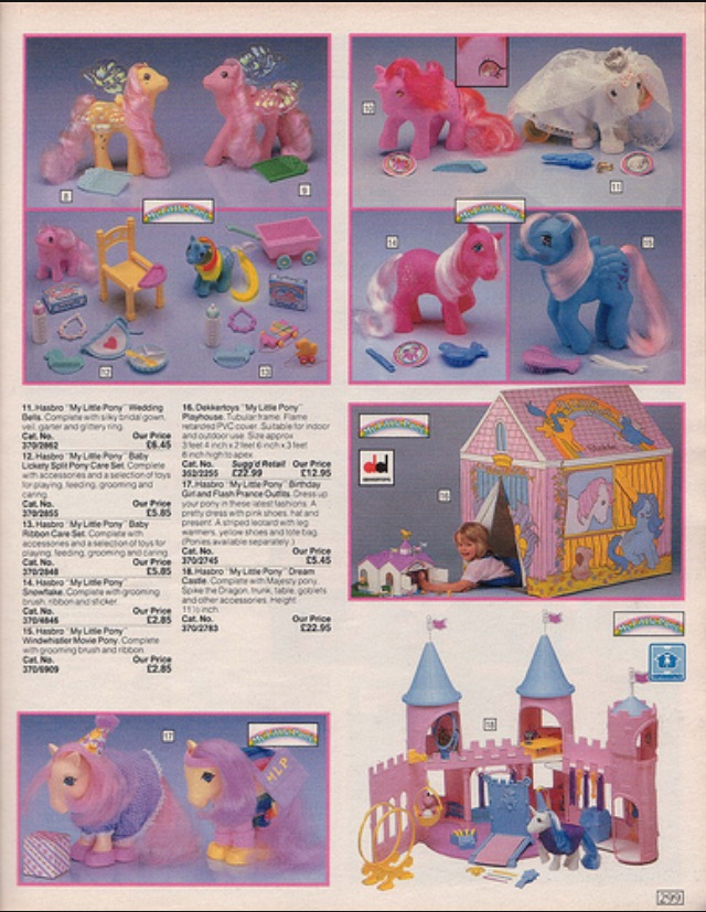 1986 Toy Collection, Argos Catalogue Pages