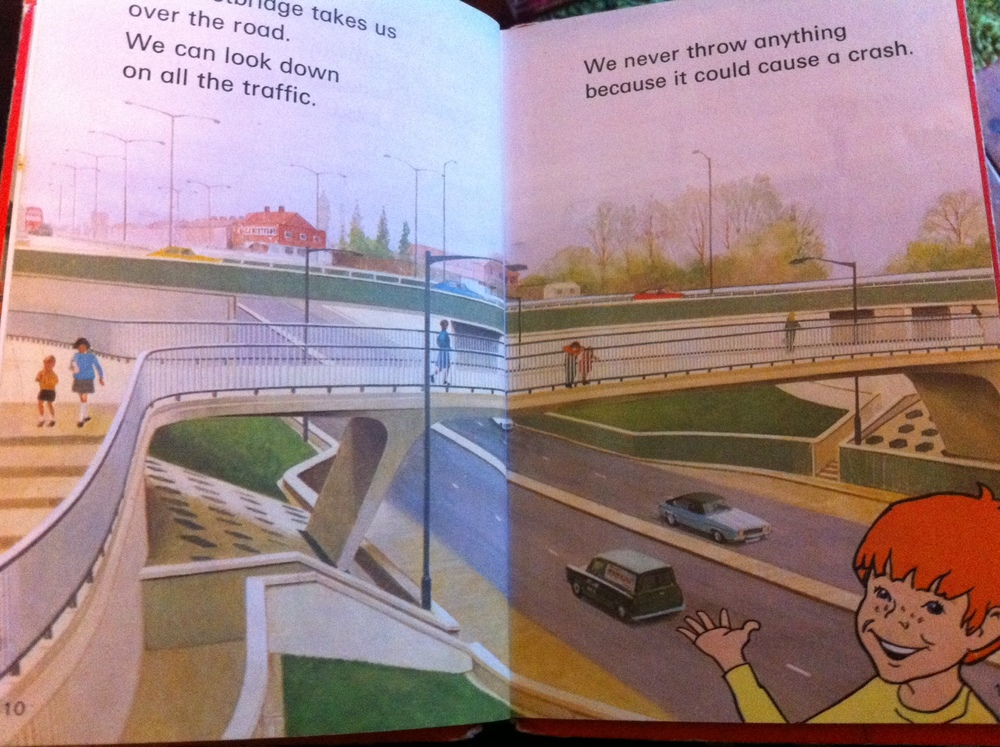 1970's Road Safety Book