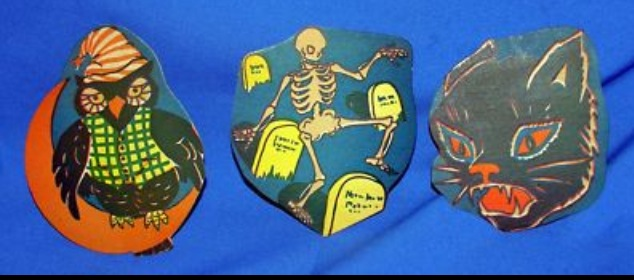 Retro Halloween Decorations