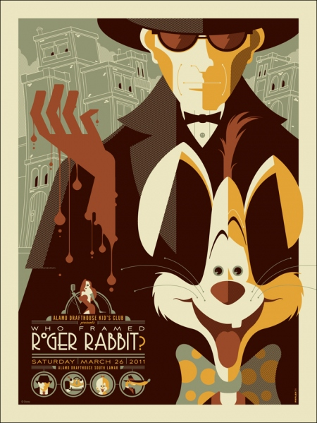 Retro Disney Posters by Tom Whalen