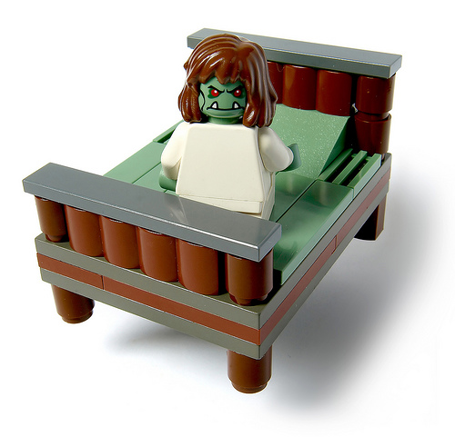 Lego The Shining, Ghostbusters, The Exorcist, Alien & Space Odyssey