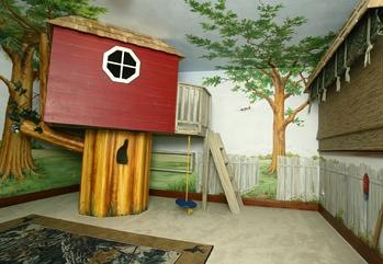 Indoor Treehouses- Magical Bedrooms