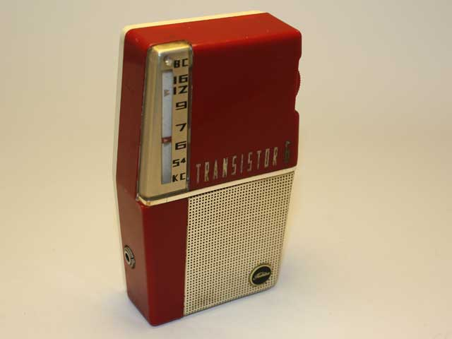 Retro Futuristic Radio Design