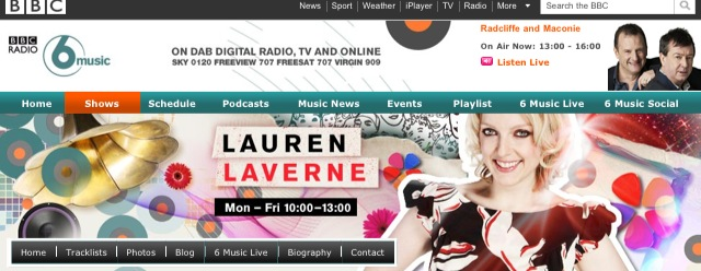 Listen to The World of Kitsch on BBC Radio 6 Earlier Today
