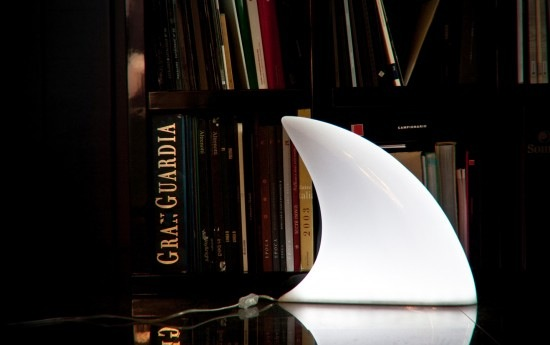 Shark Fin Lamp & other Lighting inspired by Nature
