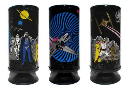 A Selection of the Kitschest Star Wars Lamps Out There