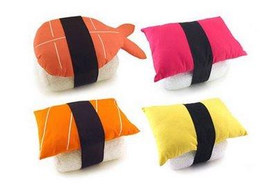 Sushi Cushions