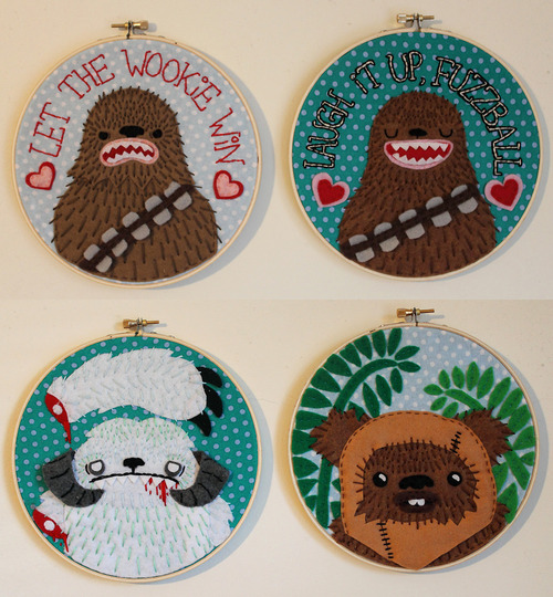 Star Wars Stitching