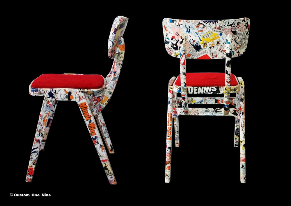 Comic Book Chairs