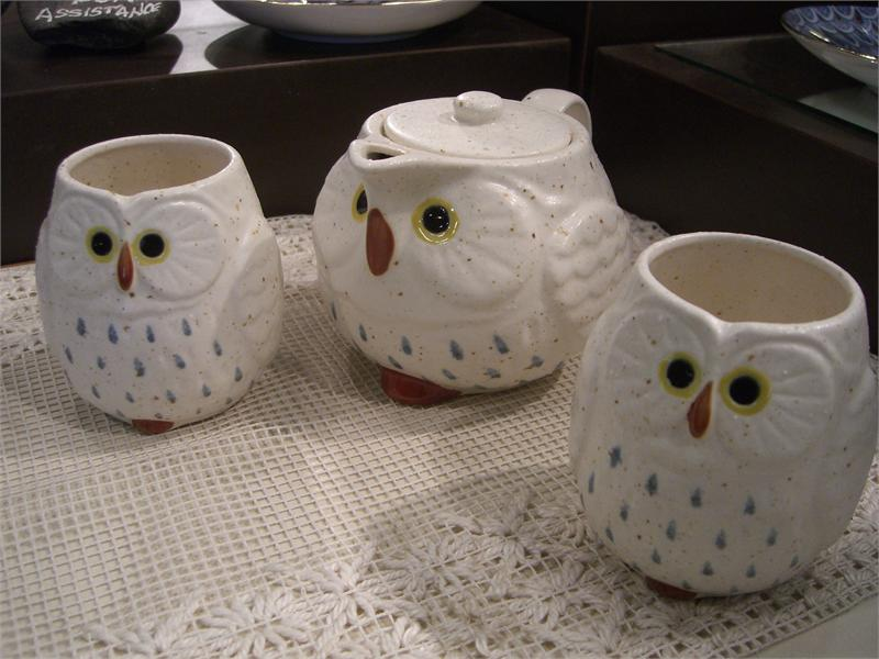 Tea Time with the Owls