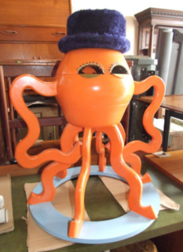 Bizarre Mister Octopus Storage Unit