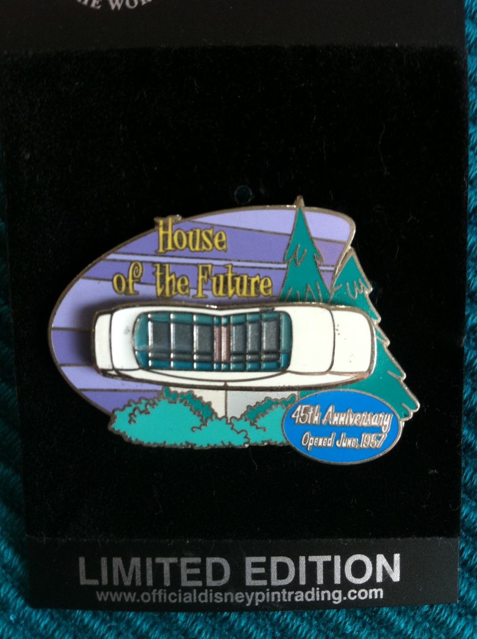 Disneyland House of the Future Pin