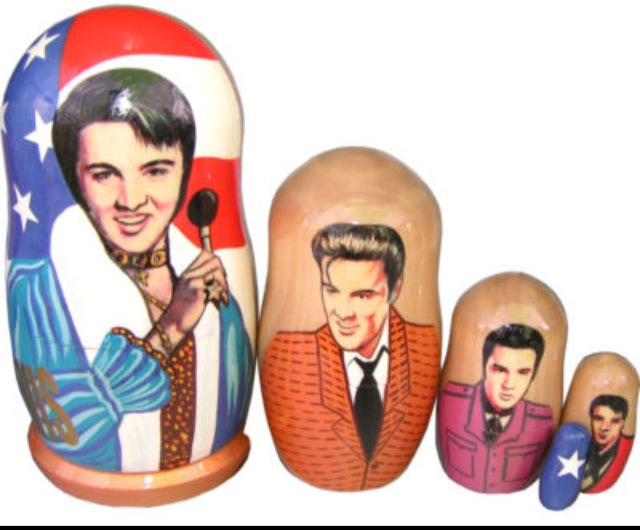 Very Bizarre Russian Nesting Dolls