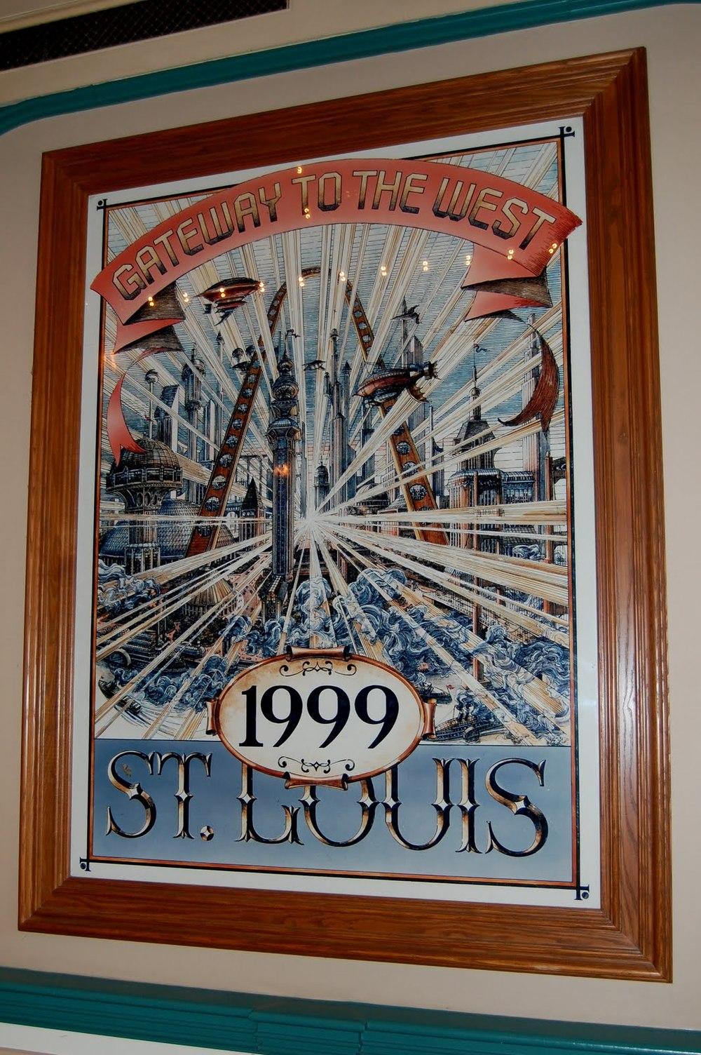 Steampunk Retro Futuristic Disneyland Posters