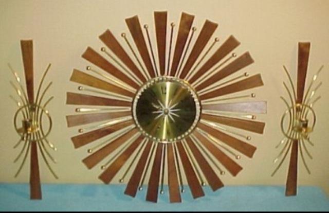 Seth Thomas Sunburst Clocks