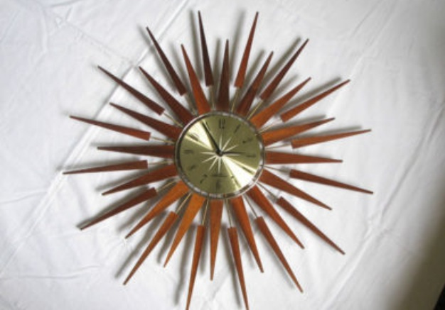Seth Thomas Sunburst Clocks