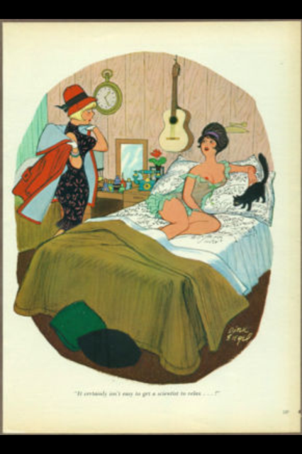 Vintage Playboy Cartoons & Adverts