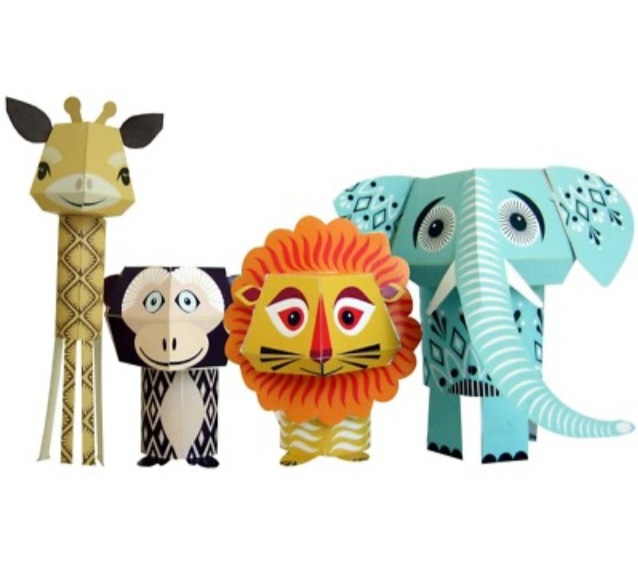 Retro Paper Craft Critters