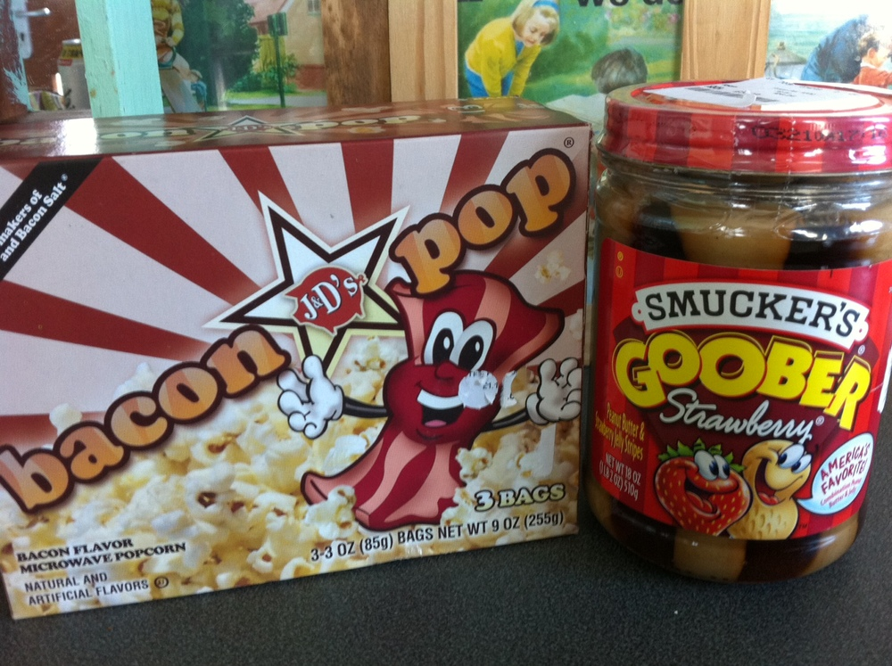 Bacon Popcorn & Squirrel Crisps