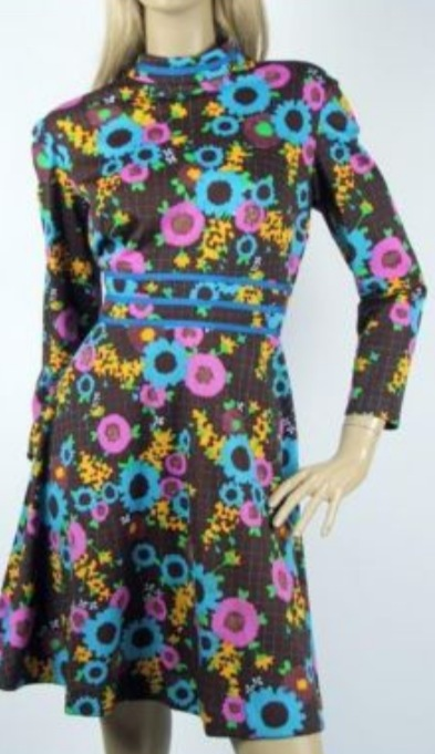 Gaudy Sixties' Day Dresses