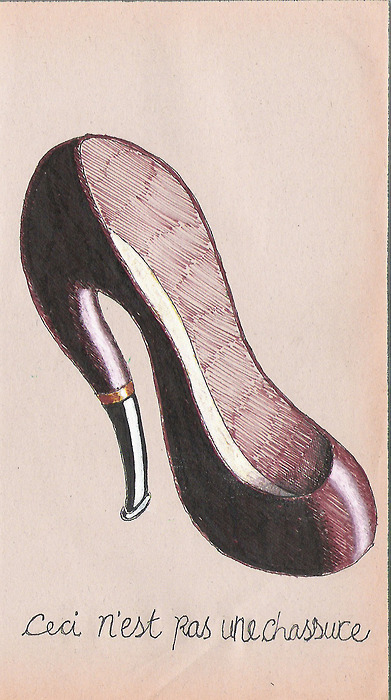 Incredible & Insane Shoe Illustrations