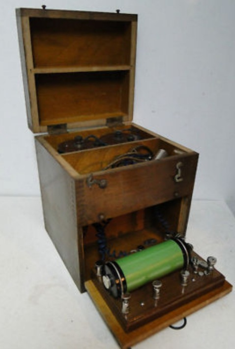 Antique Home Electric Shock Therapy Box