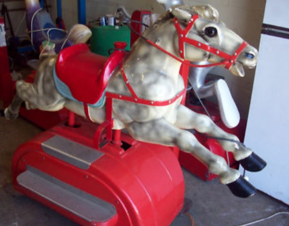 Vintage Carousel Horse Wishes