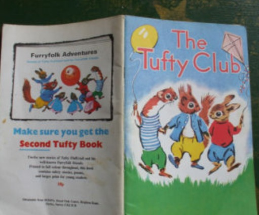 The 1st Rule of Tufty Club is YOU DO NOT TALK ABOUT TUFTY CLUB