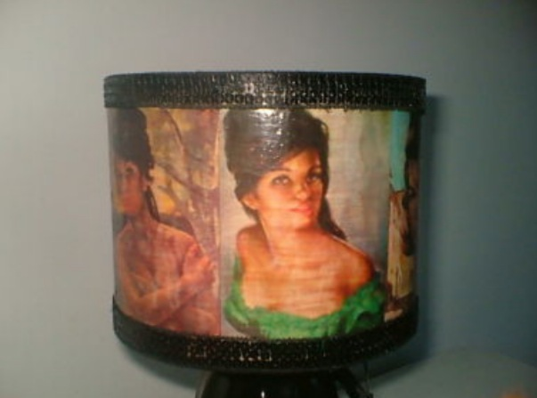 Retro Exotic Women Lamp