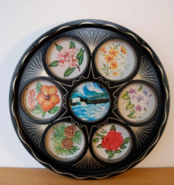 Pretty 1960s & 70s Trays