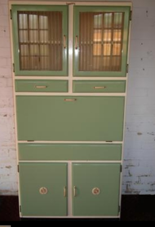 Multi-coloured Mid-century Kitchen Units