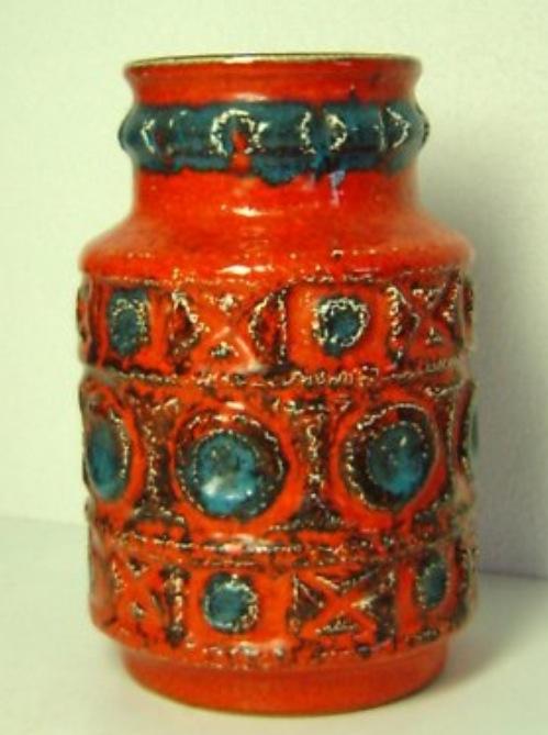 1970's Gaudy Vases