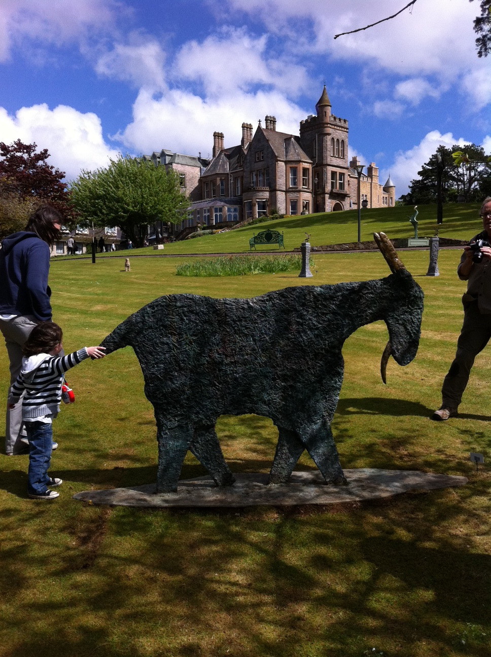 Outdoor Sculpture Exhibition at Culloden Hotel
