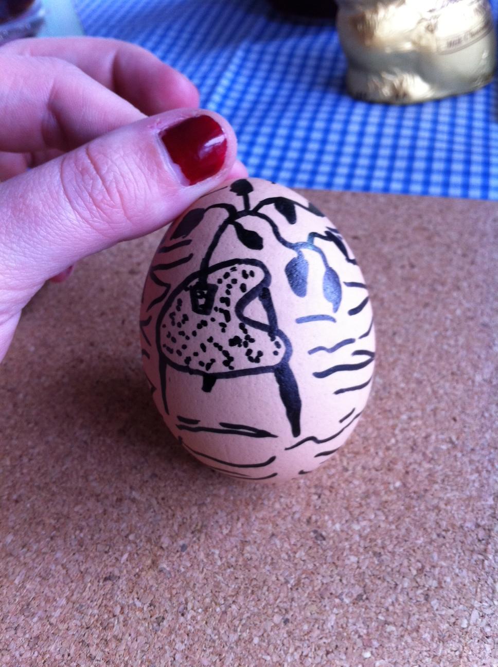 Ridgway Homemaker Easter egg