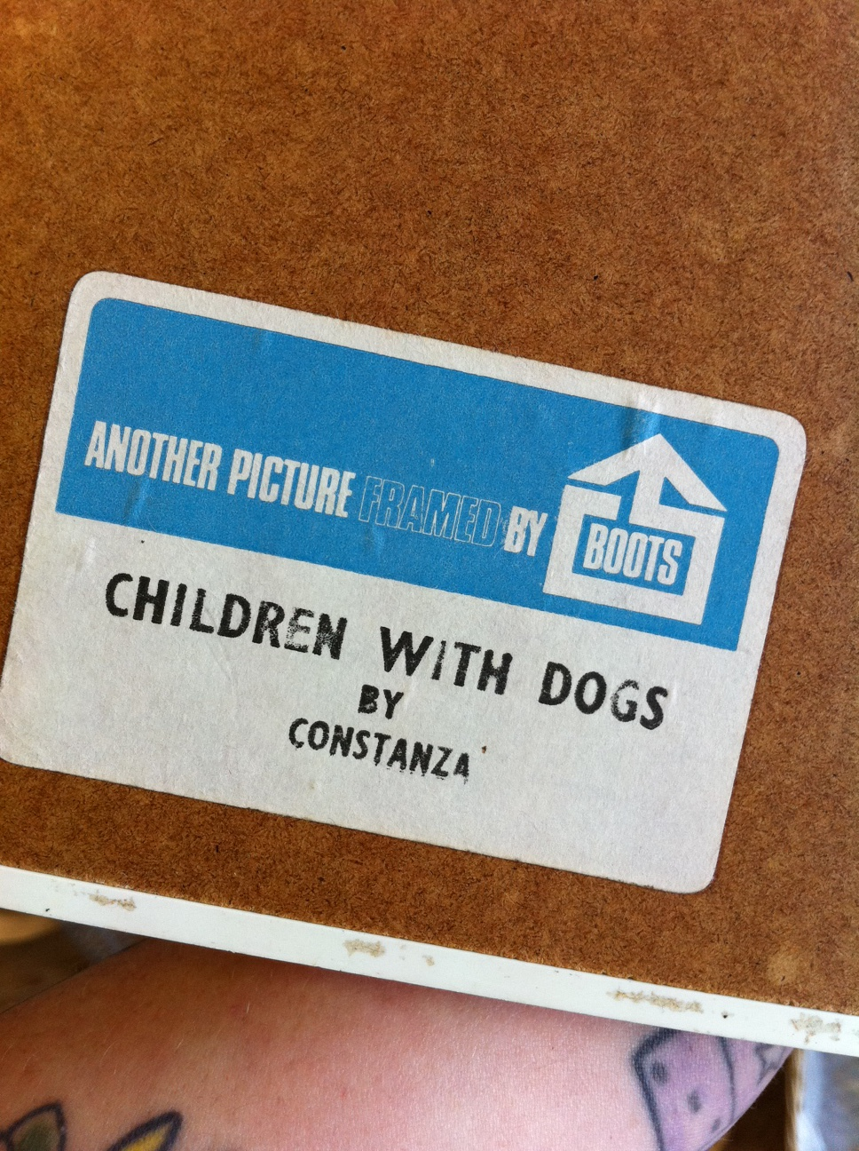 """Children With Dogs"" by Constanza"