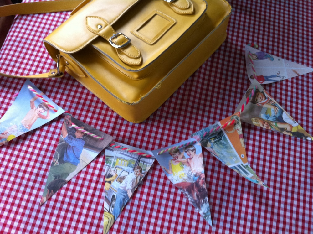 WIN Vintage Ladybird Book Bunting from TheWorldofKitsch
