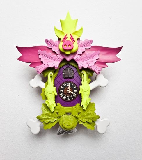 Stefan Strumbel : Giant Cuckoo Clocks