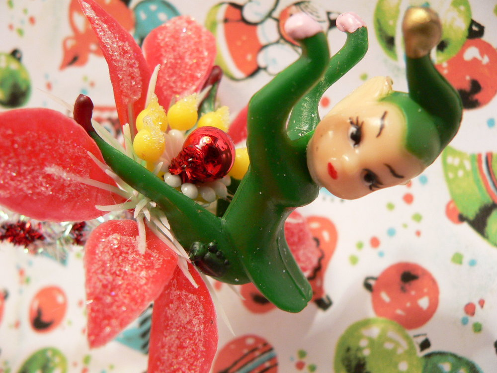 Christmas Kitsch - Vintage Decorations on EBay Now