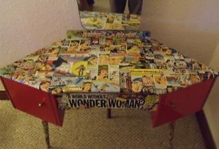 Wonder Woman Dressing Table