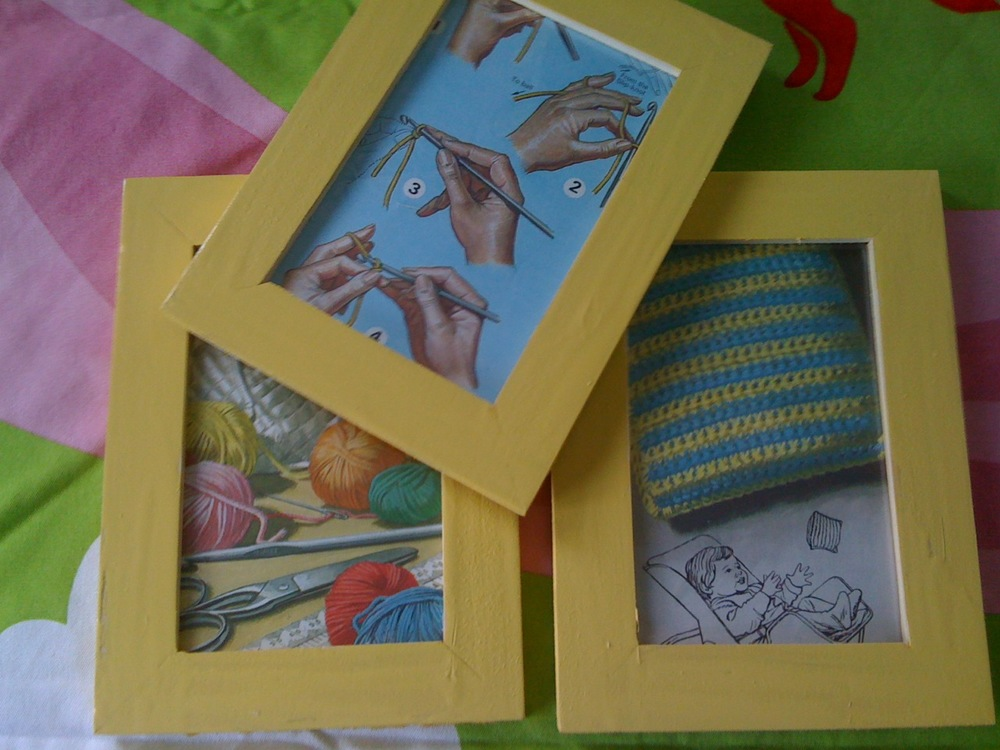Framed Vintage Ladybird Illustration Winner & sneak peak of others
