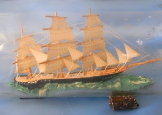 A Kitsch Classic - The Ship in a Bottle
