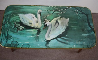 Amazingly Classy Swan Coffee Table