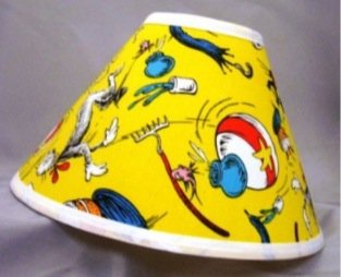 Dr Seuss Lampshades