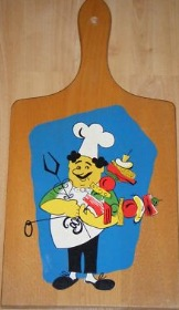 Suppers Up! Ugly Floral Chopping Boards of the 1970's